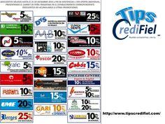 Tips Credifiel te aconseja llevar un registro de todos los descuentos y promociones que puedan surgir en esta época para cada una de las tarjetas de crédito, así como también, aprovechar los beneficios de cada tarjeta. http://www.credifiel.com.mx/