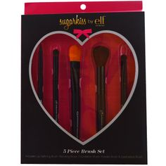 E.L.F. Cosmetics, Sugarkiss, Brush Set, 5 Pieces - iHerb.com