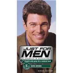 Just for Men Shampoo In Haircolor, Dark Brown H45