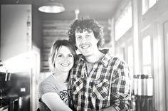 Kim and Aaron ~ Handlebar Coffee, Santa Barbara, Ca