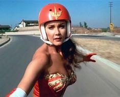 wonder women on a skateboard - sexy