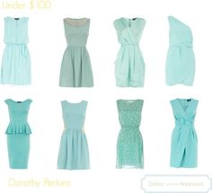 Blue Dresses For a Wedding – All Under 100 dollars