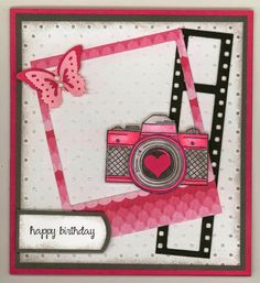 """created by Carlene Prichard: ChatterboxCreations-1.blogspot.com -  """"Smile! It's…"""