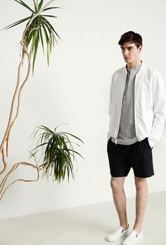 Club Monaco Spring 2015 Athletic Mens Trend Picture 002 Club Monaco Injects Athletic Trend with Smart Mens Styles