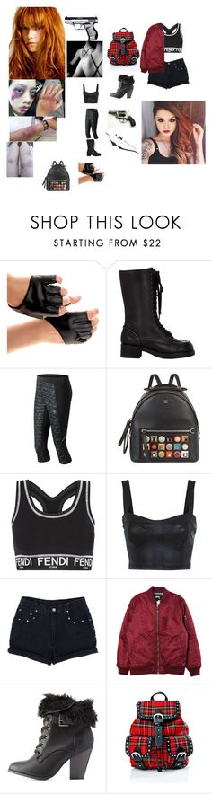 """""""Aliayanna - Future Black Widow"""" by queen-p-bxtch ❤ liked on Polyvore featuring Jil Sander Navy, New Balance, Fendi, Miss Selfridge, Stussy, Charlotte Russe and Current Mood"""