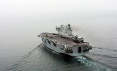 Sailing into the sunset: HMS Ocean is the flagship of the Royal Navy - but its life won't be extended