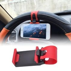 Car Holder Mini Air Vent Steering Wheel Clip Mount Mobile Phone Universal Cell Phone Stand for iPhone Holder Stand Dashboard Phone Holder, Iphone Holder, Iphone Stand, Cell Phone Stand, Cell Phone Holder, Iphone Phone Cases, Iphone S6 Plus, Android Gps, Watch For Iphone
