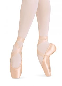 Bloch Balance European Ballet Pointe Shoes. Dazzle dance boutique.
