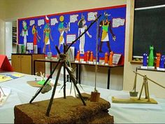 Ancient Egypt Classroom: nice projects and displays