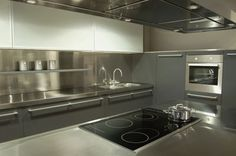 Stainless Steel Countertops 01