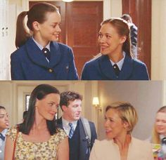 Rory and Paris Young and Older Rory Gilmore, Gilmore Girls Quotes, Teen Wolf, Movies And Series, Movies And Tv Shows, Pretty Little Liars, Team Logan, Full House, Girlmore Girls