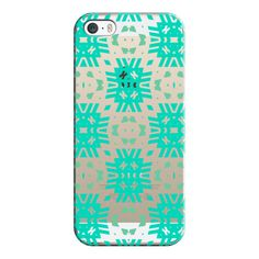 iPhone 6 Plus/6/5/5s/5c Case - Southwest Summer - Transparent/Clear... ($35) ❤ liked on Polyvore