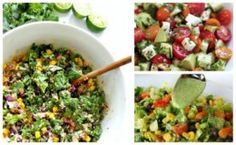 10 of the Best Summer Salads You Can Make That Are Super EasyLiving Rich With Coupons® Best Summer Salads, Summer Salad Recipes, Healthy Salad Recipes, Vegetarian Recipes, Baby Shower Fruit, Cucumber Avocado Salad, Kabob Recipes, Recipies, Restaurant Recipes