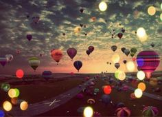 hot balloons in my dreams!
