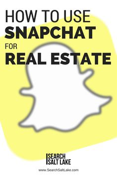 The way we market ourselves, and our real estate business needs to keep up with the world we live in. It's 2017, and we have some new options to be seen, network, and market homes for sale. The hottest, and in my opinion, the most effective, most powerful, is Snapchat. Don't understand Snapchat yet? Read this article, because as you continue not understanding it, Realtors all around the world are building relationships and getting more business using Snapchat. Learn how...