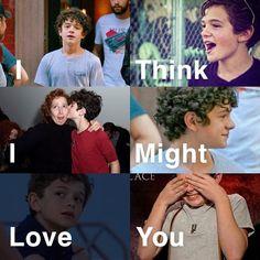 I think I might love you ! Pretty Boy Swag, Pretty Boys, Noah, Cute Actors, Adam Sandler, Think, Famous Last Words, Oprah Winfrey, My Crush