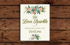 Tips for having sparklers at your wedding