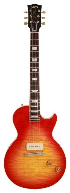 Gibson Les Paul Custom Shop Electric Guitar Figured Top 1 Pickup 1954