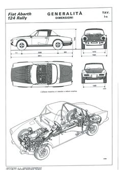 Discover recipes, home ideas, style inspiration and other ideas to try. Fiat 124 Sport Spider, Fiat 124 Spider, Fiat Cars, Fiat Abarth, Car Sketch, Rally Car, Fiat 500, Chevrolet Logo, Cars And Motorcycles