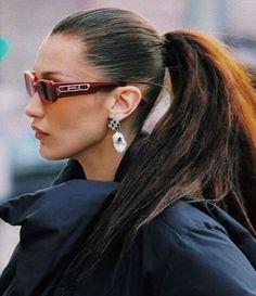 Bella Hadid uploaded by Jenny W on We Heart It Bella Gigi Hadid, Bella Hadid Style, Portraits, Isabelle, Hair Inspo, Pretty People, Celebrity Style, Beauty Hacks, Hair Makeup