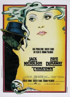 Italian poster for Chinatown (1974)