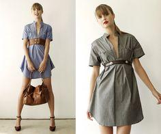Emma Bolt Trends: El vestido camisero, un imprescindible en tu armario / The shirtwaist dress, a must have