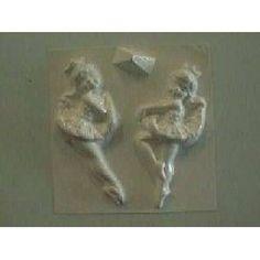 Plaster Fun House - Ballerina's 2 on 1 Plaster Molds, Fun House, 2 In, Ballerina, Home Goods, Ballet Flat, Ballerina Drawing
