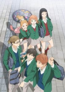 The drama romance manga series, Orange, gets anime TV and has been green-lit to be released in summer 2016  #anime #orange