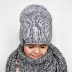 Easy Knitting Patterns, Knitting For Kids, Knitting Stitches, Knitting Projects, Baby Knitting, Crochet Baby, Knit Crochet, Kids Beanies, Kids Hats