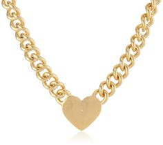 Juicy Couture Jewelry Metal Heart Id Necklace