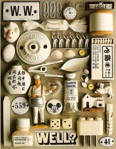 #28 Organized Collections by Guido Cecere http://bricolage-julier.blogspot.com