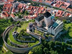 Grand Homes, Medieval Castle, Old Buildings, Countries Of The World, Aerial View, Diorama, Lighthouse, Tower, Around The Worlds