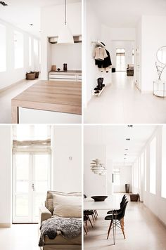 Light, space and earth tones