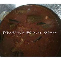 Drumstick Brinjal gravy   gravy recipe Veg Recipes Snacks, Tamarind Juice, Curry Leaves, Fennel Seeds, Gravy, Cooking Tips, Vegetables, Food, Salsa