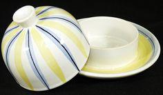 HEDWIG BOLLHAGEN HB - Butterdose KÄSEGLOCKE Dose - Keramik - Dekor 138