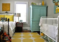 Shared Baby and Toddler Girls Rooms | Shoes Off Please