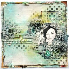 art journey by Made by Finnabair, via Flickr