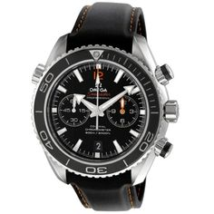 Omega Mens 23232465101005 Seamaster Planet Ocean Black Dial Watch -- Read more at the image link. (This is an Amazon affiliate link)