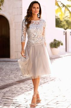 This would be a perfect mother of the bride dress <3 Evoke endless romance in…