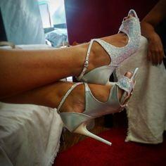 Δερμάτινα νυφικά παπούτσια Divina Stiletto Heels, Shoes, Fashion, Moda, Zapatos, Shoes Outlet, Fashion Styles, Shoe, Footwear