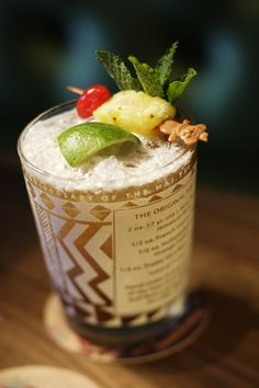 Scrumpdillyicious: The Original Trader Vic's Mai Tai -a revelation for those of us who have only had mixer neon versions. Worth the investment for a party or makes a great gift for housewarming!