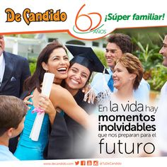 Inolvidables son esos momentos que nos preparan para un mejor futuro, por eso durante #60Años #TuDeCandido ha estado siempre con la familia.
