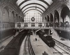 The Gare d'Orsay, as it then was. © Musée d'Orsay