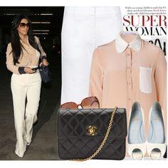 727. Celebrity Style: Kim Kardashian, created by nastyaafanasova