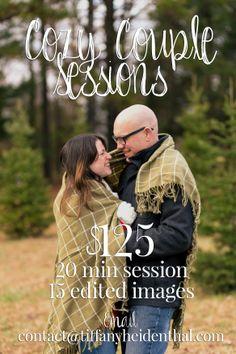 Winter Mini Sessions - Valentine's Day Portrait Special - Richmond, VA - Tiffany Heidenthal Photography