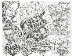 Really like the chain of fools concept. tattoo flash ...