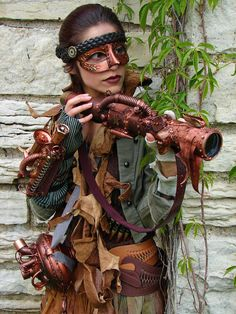 Steampunk Cosplay Gothic Sci Fi One of a Kind by MySteampunkArmy,