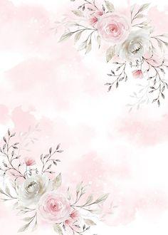 Framed Wallpaper, Flower Background Wallpaper, Flower Phone Wallpaper, Flower Backgrounds, Wallpaper Backgrounds, Iphone Wallpaper, Flower Graphic Design, Invitation Background, Flower Frame