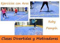Ejercicios de Agilidad y Fuerza con AROS – Clases de #pádel Divertidas y Motivadoras. #padel http://blgs.co/I-V6KM