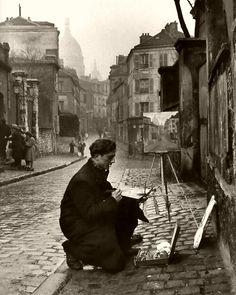 Montmartre, Paris. 1946. Ed Clark ZsaZsa Bellagio – Like No Other: ART matters